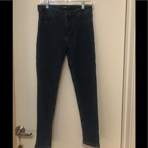 Zara High Waisted Skinny Jean